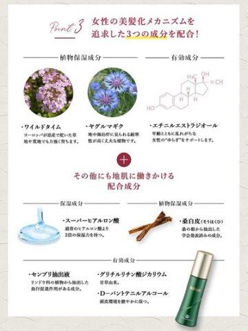 「薬用リリィジュ」配合成分