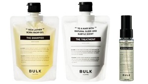 BULK HOMME HAIR CARE 3STEP COURSE